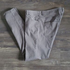 H&M army brownish taupe skinny pants